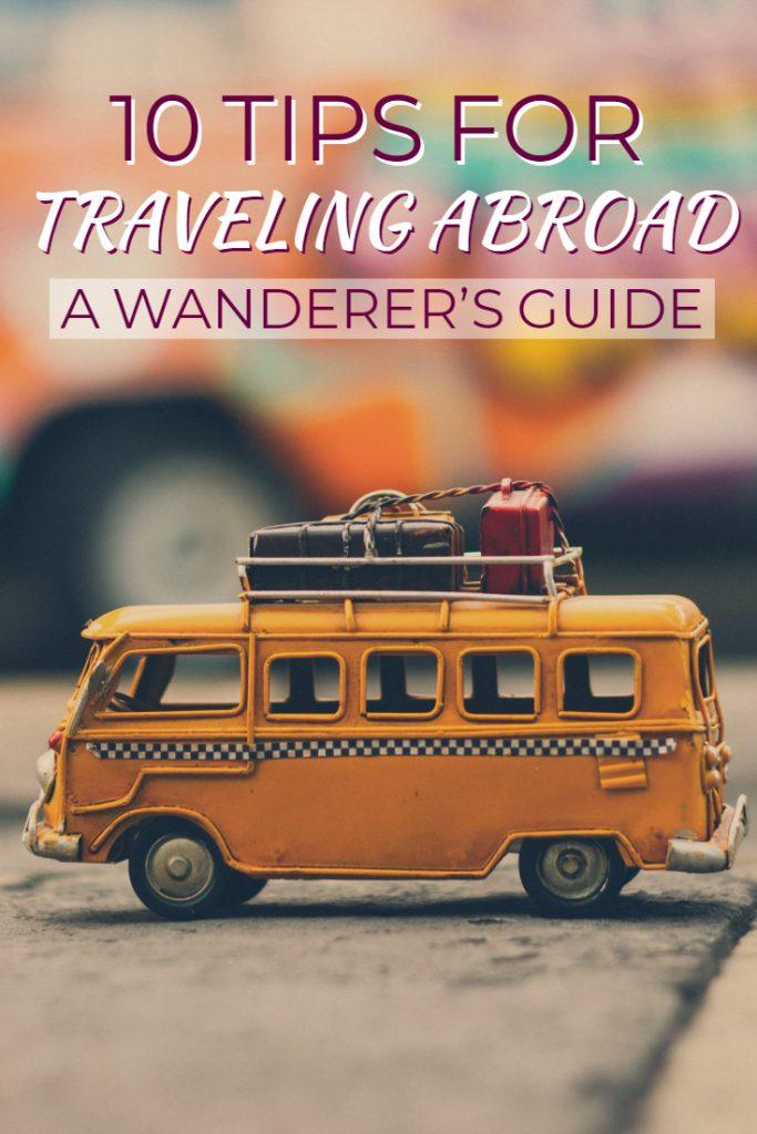 Top 10 Travel Tips Pin
