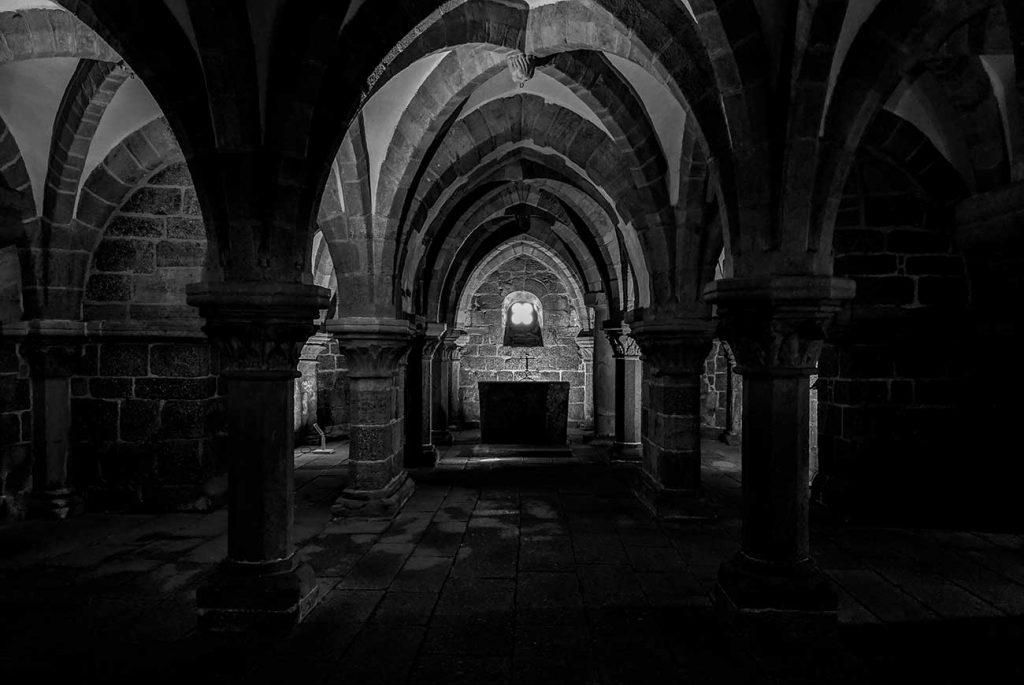 Brno Day Trip: Crypt under St Procopius Basilica in Třebíč