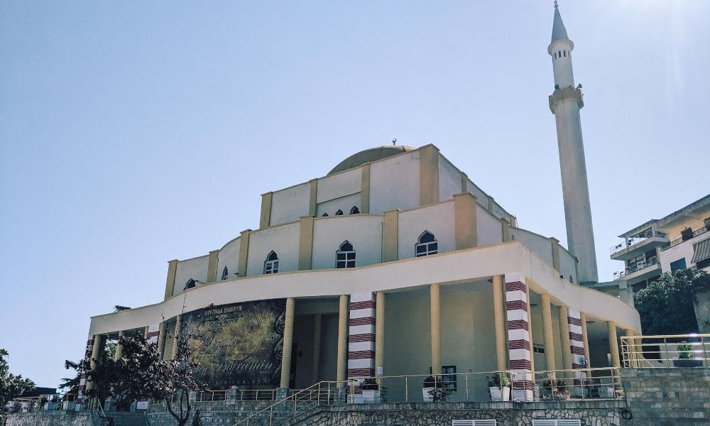 Grand mosque in Durres, Albania