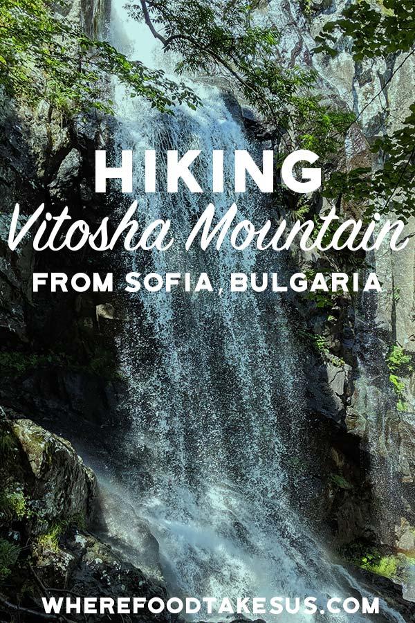 Boyana Waterfall on Vitosha Mountain image for Pinterest