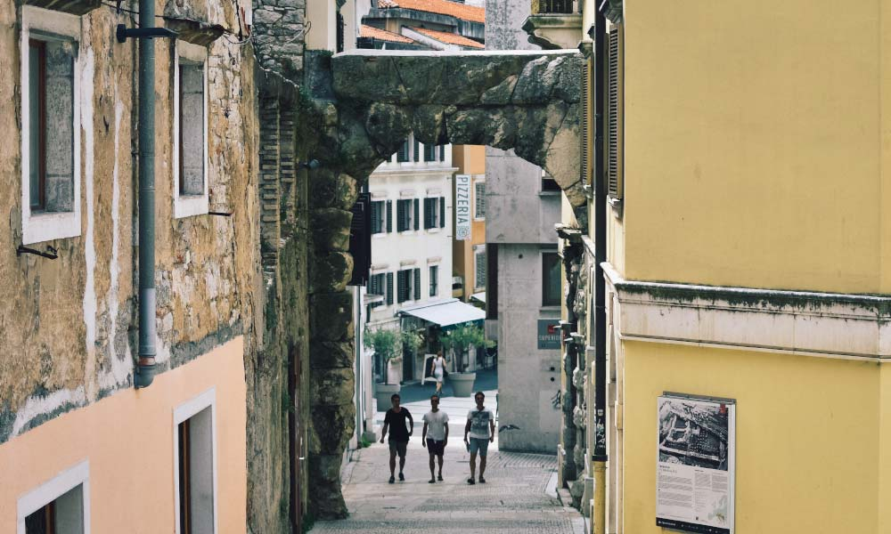Roman arch in Rijeka