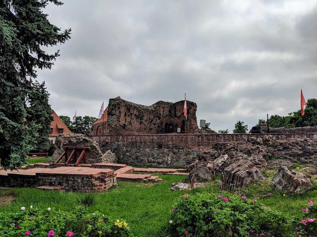 Teutonic Castle Ruins in Toruń