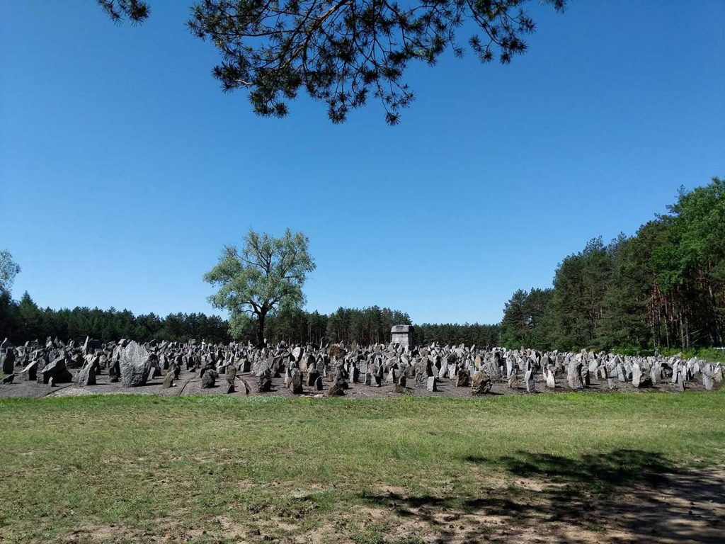 17,000 stones commemorate the almost 1 million Jews who died in Treblinka