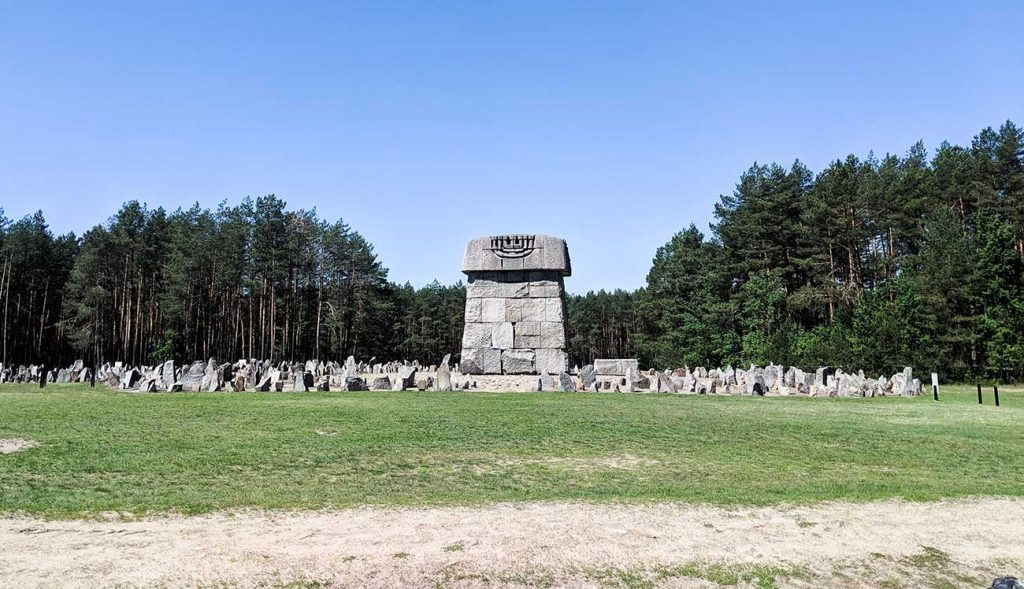 Treblinka's monument and memorial