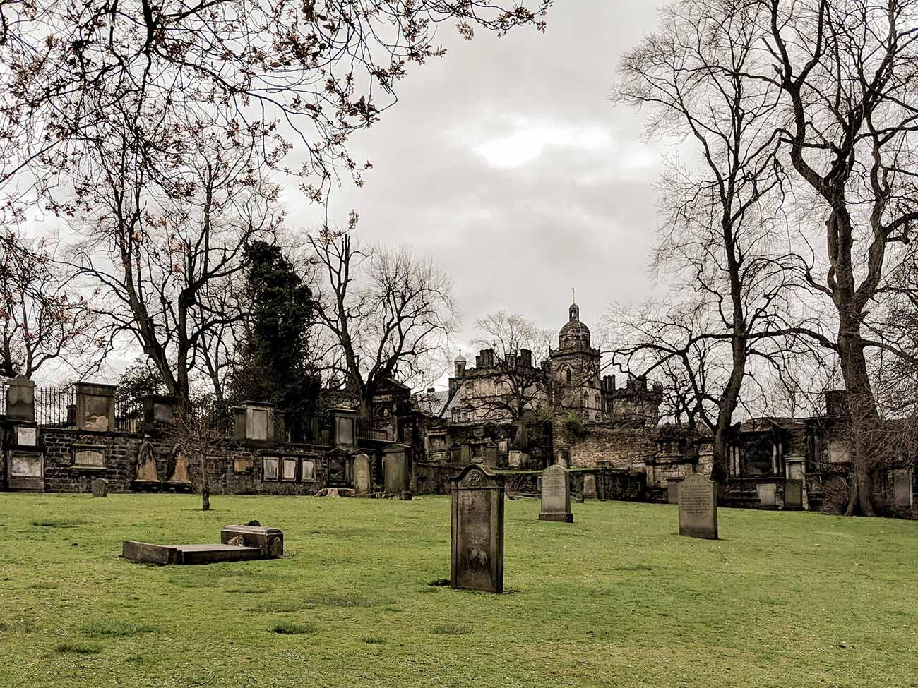Greyfriar's Kirkyard in Edinburgh, Scotland