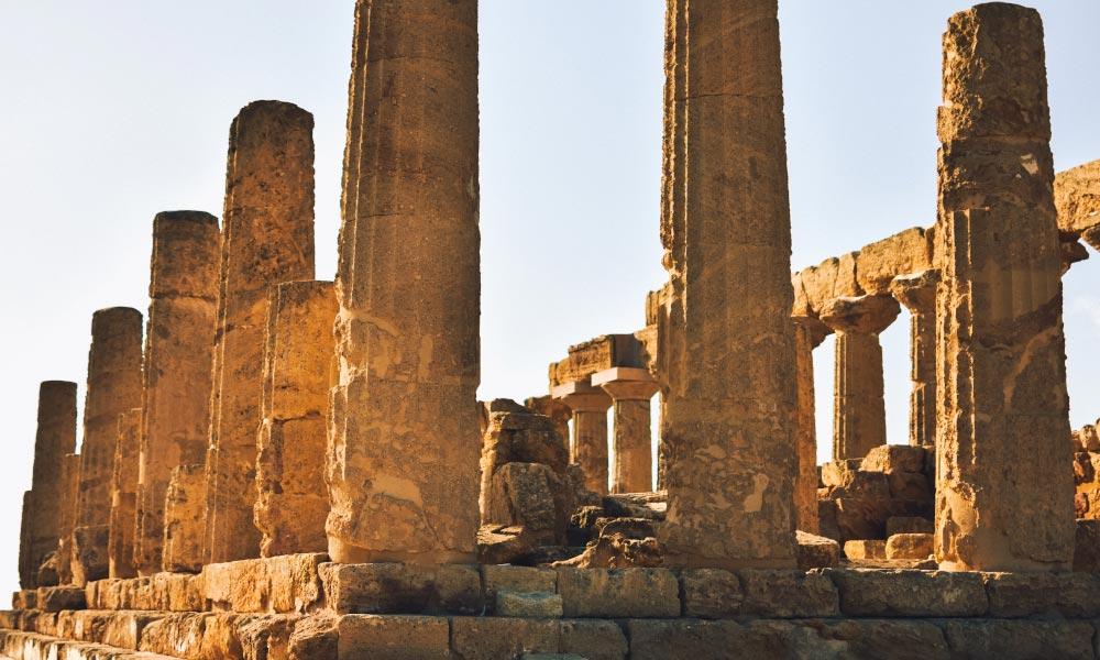 Temple of Juno ruins