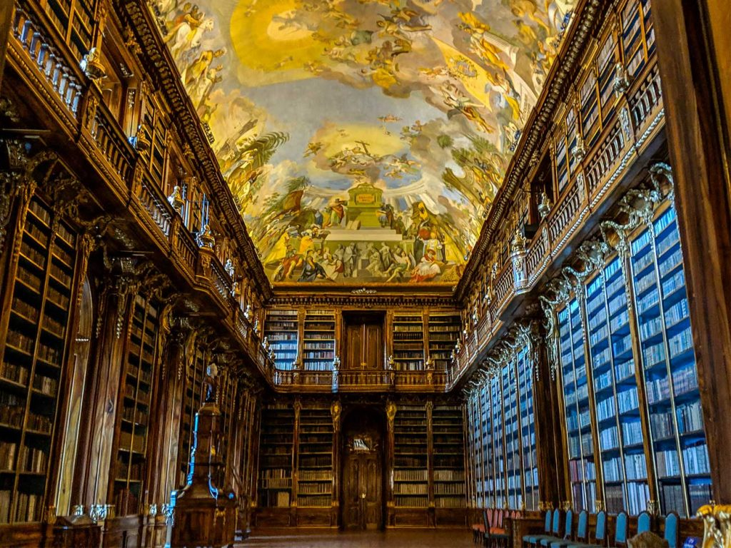 Library in Strahov Monastery