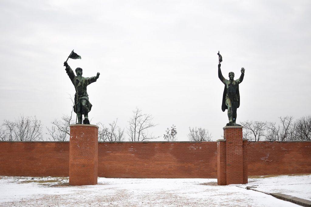 Soviet statues in Memento Park