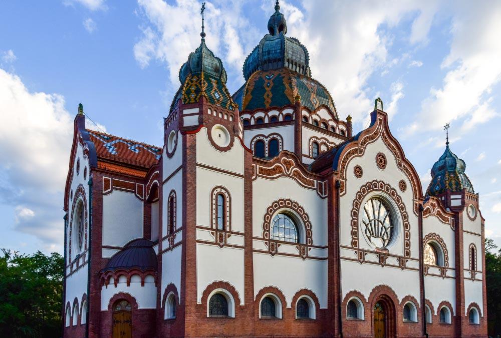 A beautiful old church in Serbia