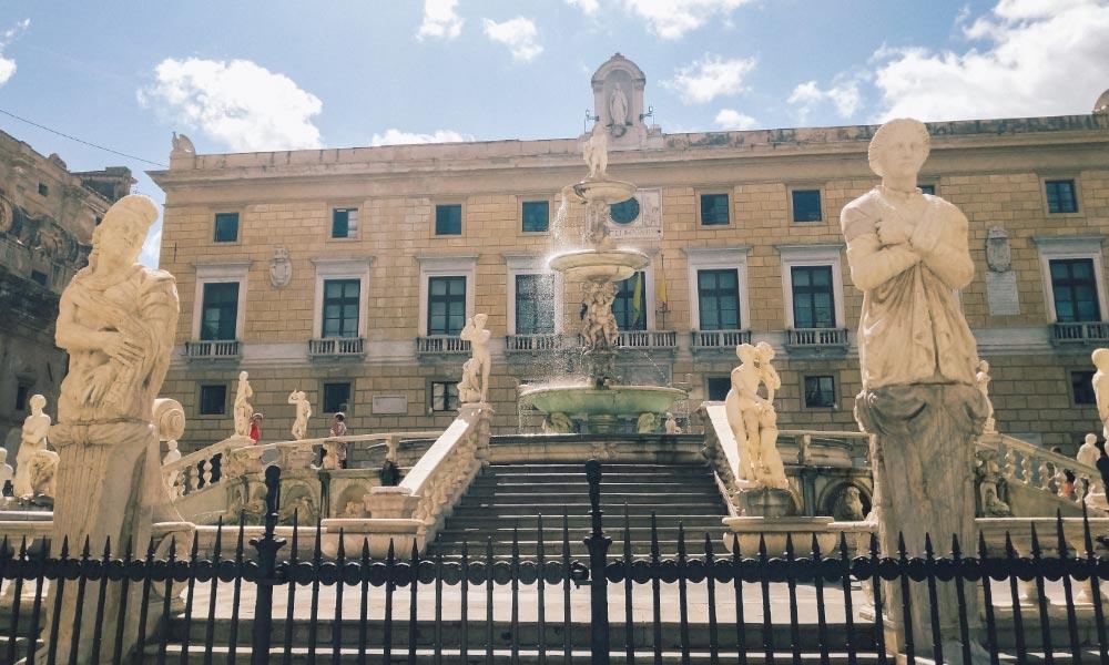 Praetorian Fountain in Palermo